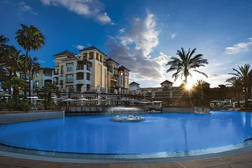 Selling timeshare at Marriott's Playa Andaluza