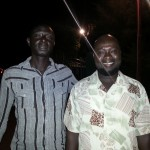 Sulayman con il regista SAGE