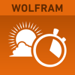 Bästa resorapplikationer: Wolfram Sun Exposure
